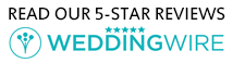 Read our Reviews at WeddingWire.com